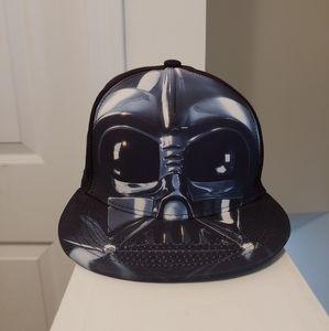 Star Wars Airbrushed Darth Vader Snapback Hat